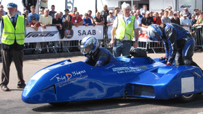 Brighton and VMCC marshal Nick Wingrove