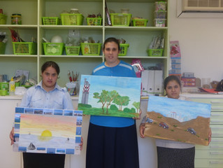 PARTICIPATING IN ASHDOD'S MONART PROJECT