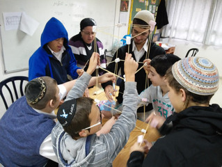 Activities at the Inclusion Program at Tzohar L'Tohar