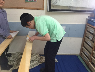 AT A CARPENTRY LESSON