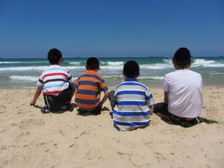 סיור לחוף הים