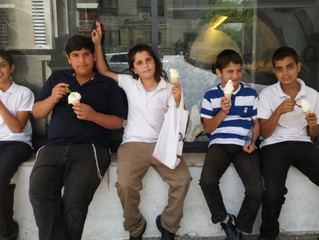 Students Enjoy a Special Outing