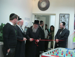 New Clubroom at Shvilei Chinuch