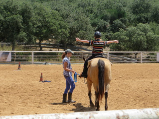 HORSE-RIDING THERAPY