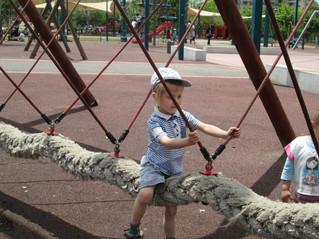 ילדי הגנים של חכמת ישראל ביציאה לטיול- פארק עפולה