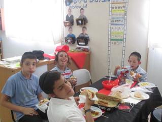 CLASS PARTY AT CHOCHMAT ISRAEL, RECHASIM