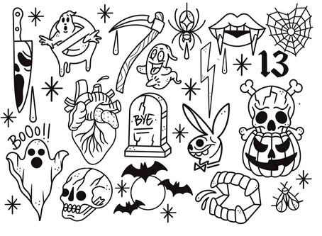 🎃 Flash tattoo day especial HALLOWEEN 🎃 (31/10/19)🔥