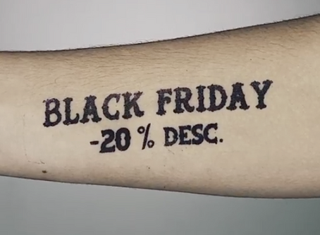 BLACK FRIDAY A LA LLUM TATTOO MANRESA