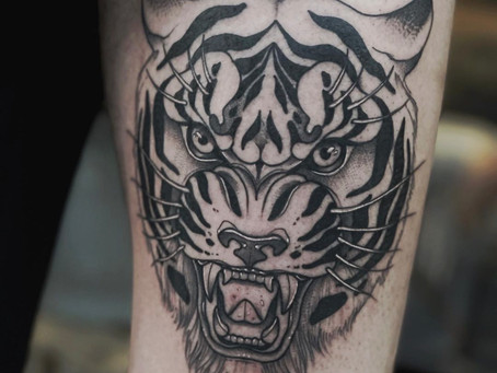 TIGER X @LAPEYTATTOO