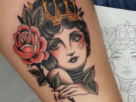 Tattoo fet x @xavi_starkink