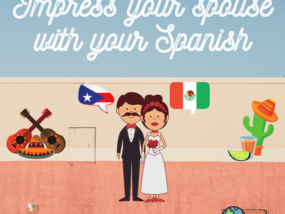 Learning Spanish for your partner?