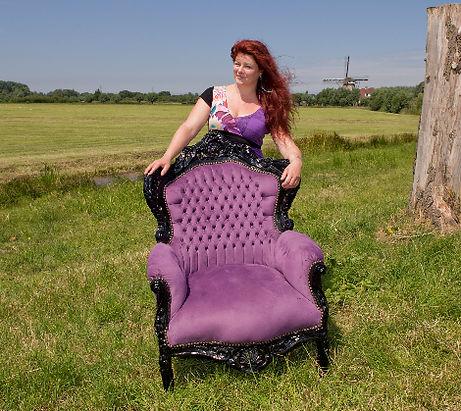 Welkom in mijn stoel