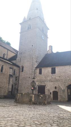 Le clocher de l'abbaye