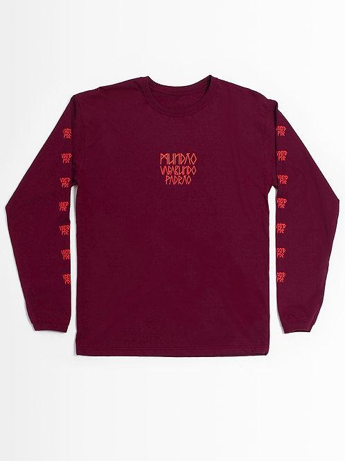 camiseta bordô illuminati ifeellikepablo caveira