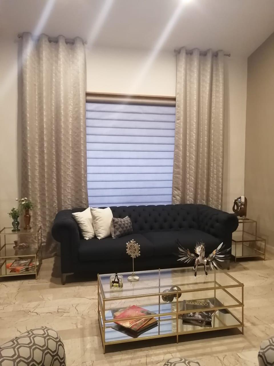 Trabajo realizado cortinas leglans y per