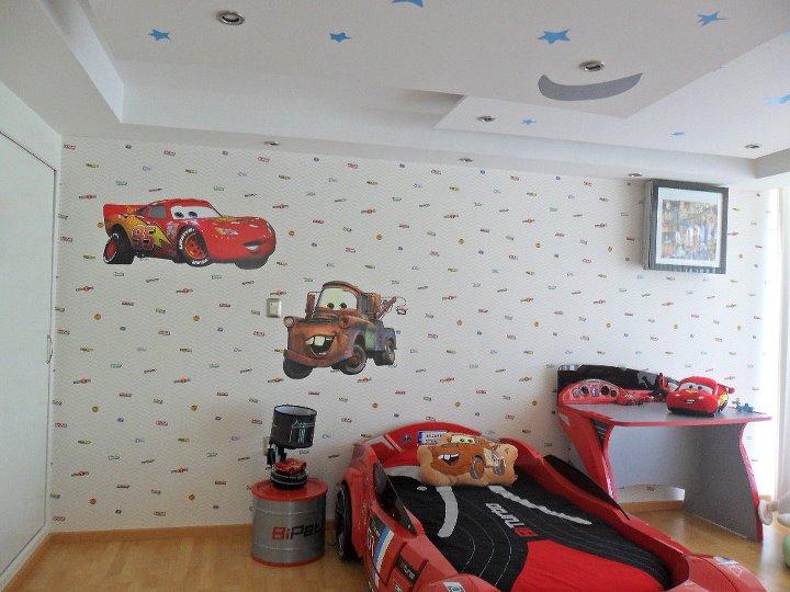 Papel Tapiz Infantil Cars