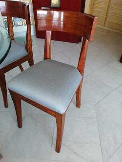 Tapicería de silla trabajo realizado