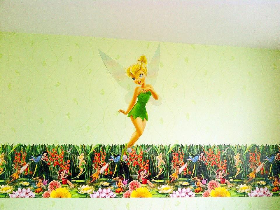 Papel Tapiz y Cenefa Infantil Disney