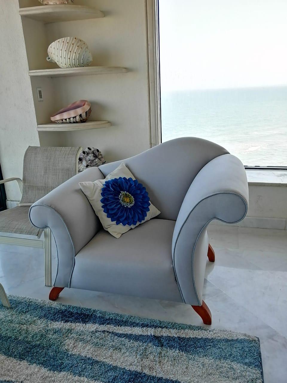 Trabajo realizado tapicería de muebles 1