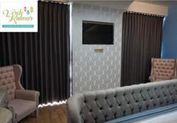 Confección de cortinas y papel tapiz