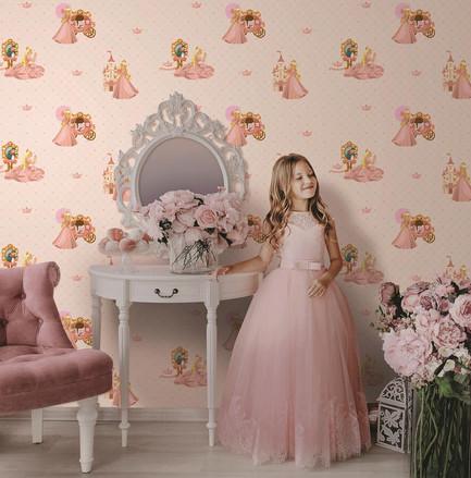 ada kids ambiente decorado princesas ref