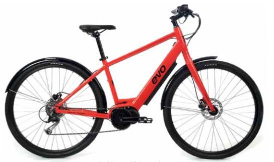 Kallio E-Bike Red