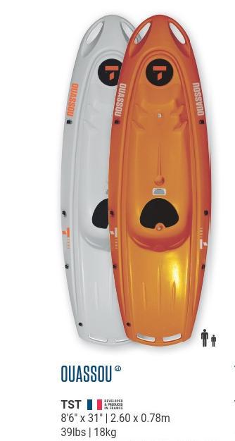 Ouassou Rigid Kayak