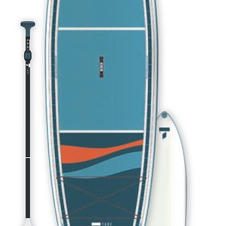 "10'6 BEACH SUP KIT x 34"" SUP"