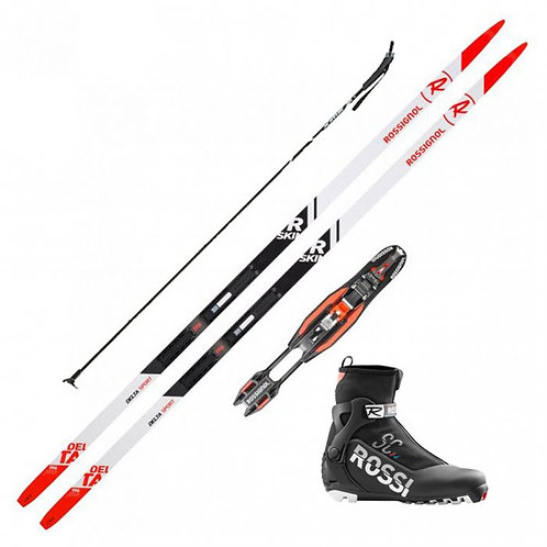 Cross Country Nordic Ski Package