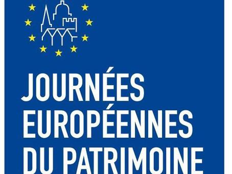 JOURNÉES EUROPÉENNES DU PATRIMOINE : BALADE ADINFERROISES