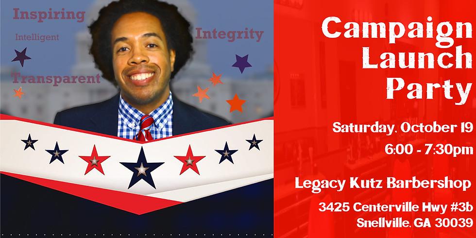 Antonio Hicks Campaign Launch Party