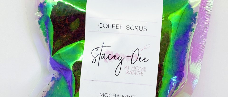 Mocha Mint Coffee Scrub