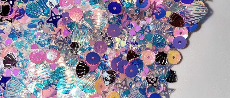 Mermaid Glitter Mat