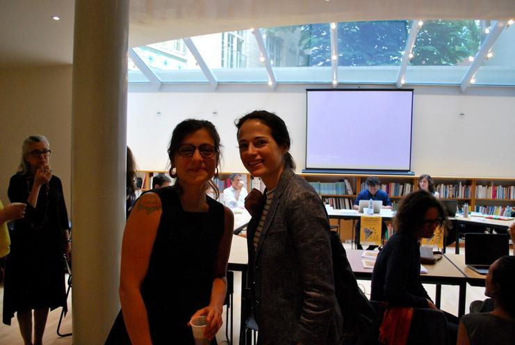 Nathália Capellini et Anaïs Fléchet