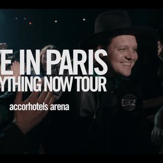 Arcade Fire live in Paris