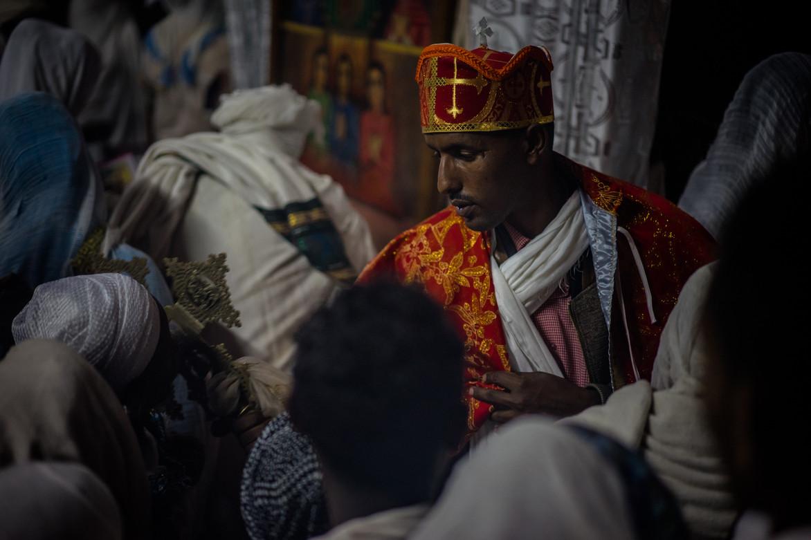 St George's Ceremony - Lalibela - Ethiopie