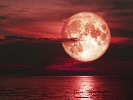 Strawberry Super Full Moon