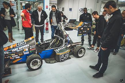 Visite de l'ISAT Formula Team dans l'entreprise Epro Group