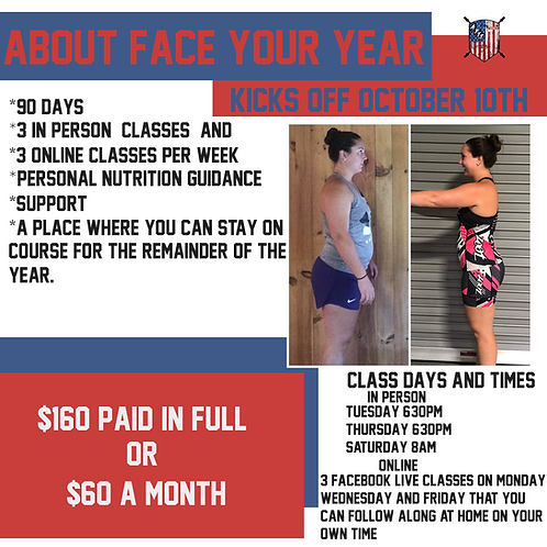 About Face Your Year