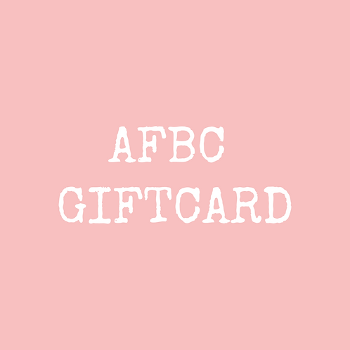 One month gift card