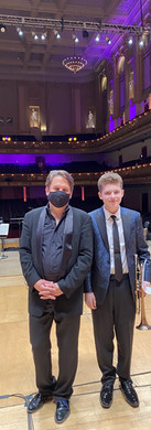 Grand Finalist of Young Artists Competition at the Boston Pops