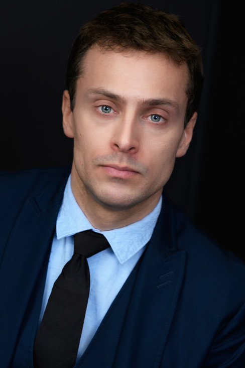 Awesome corporate headshot or intense actor headshot.