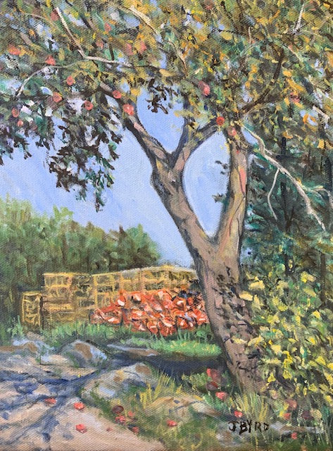 Traps and Apples by Jean Byrd