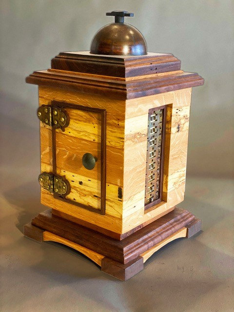 #1 Reliquary With Secret Lock By Roger Barry