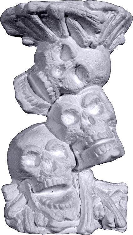 Three Skulls Mini Pedestal Painting Kit
