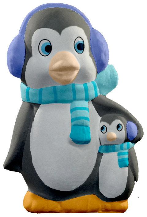 Penguin Friend Statue Painting Kit
