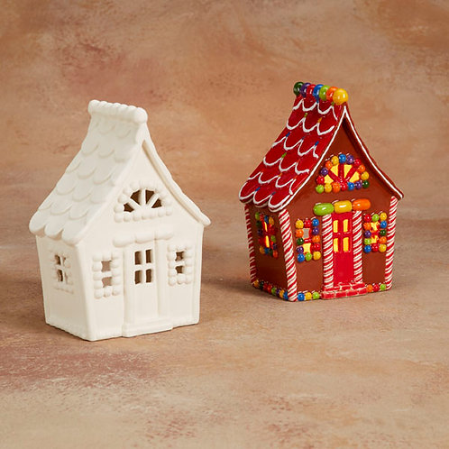 GINGERBREAD HOUSE LANTERN