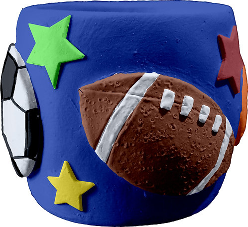 All Sports Pencil Holder Painting Kit