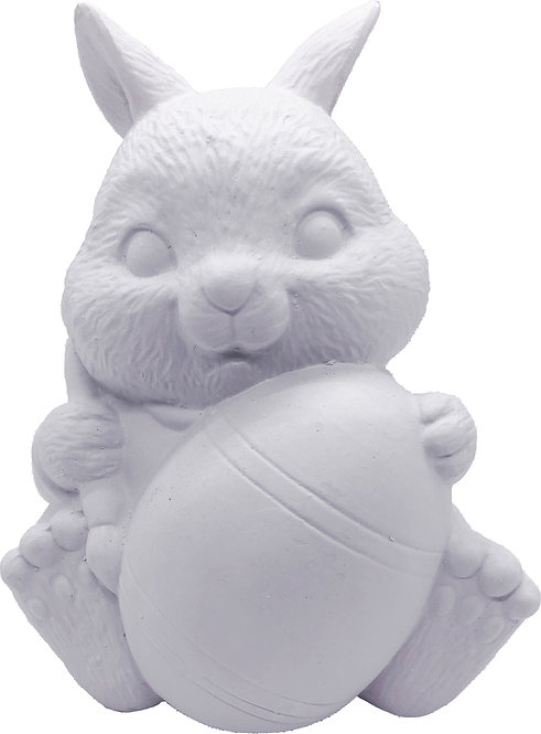Bunny with Paintbrush Statue Painting Kit