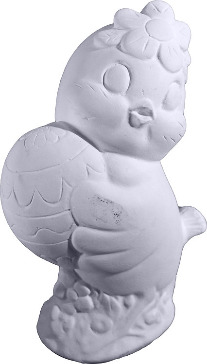 Chick Holding Egg Statue Painting Kit